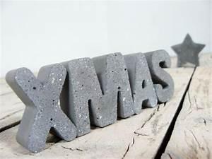 Buchstaben Aus Beton : 13 besten weihnachten christmas bilder auf pinterest weihnachten dawanda com und grau ~ Sanjose-hotels-ca.com Haus und Dekorationen