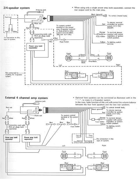 pioneer deh p4050ub wiring diagram 34 wiring diagram