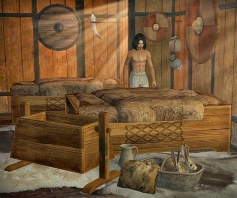 medieval smithy sims  celtic bedroom