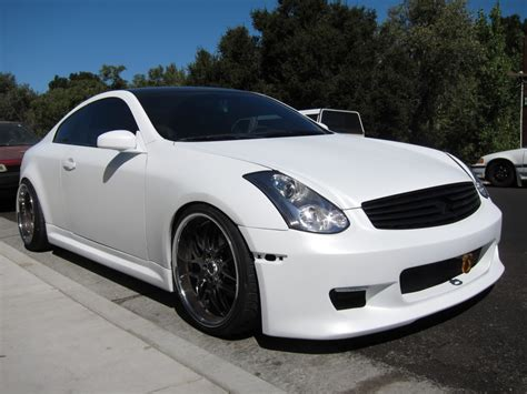 new my custom paint flat pearl white g35driver infiniti g35 g37 discussion