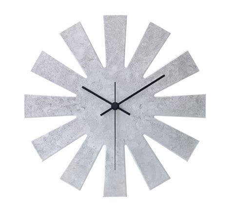 silver wall clocks gallery of new spoon fork creative
