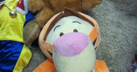 Baby Blogs: Big Tigger Plush Toy Size L