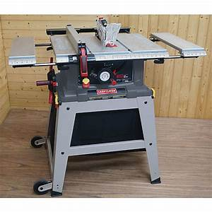 Craftsman 21807 Table Saw Review