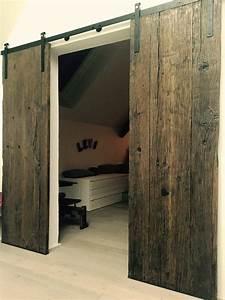 Porte Coulissante Dans Le Mur : le petit atelier style grange ~ Dailycaller-alerts.com Idées de Décoration