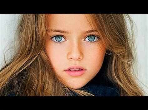 meet worlds  beautiful  year  girl kristina