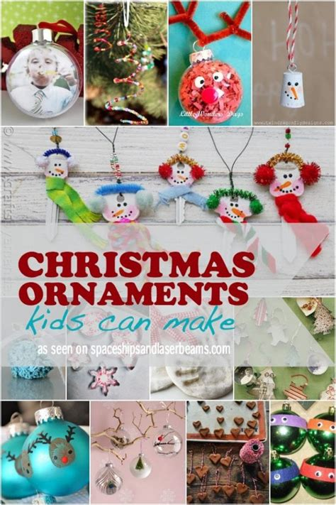 host a christmas ornament making party 27 things to do with spaceships and laser beams