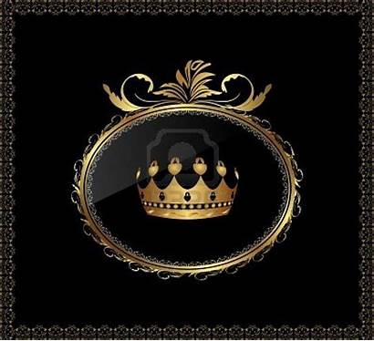 Luxury Crown Mean Does Gold Disappointed Background
