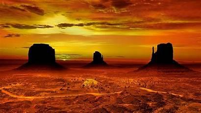 Desert Monument Valley Sunset Arizona Navajo Landscape