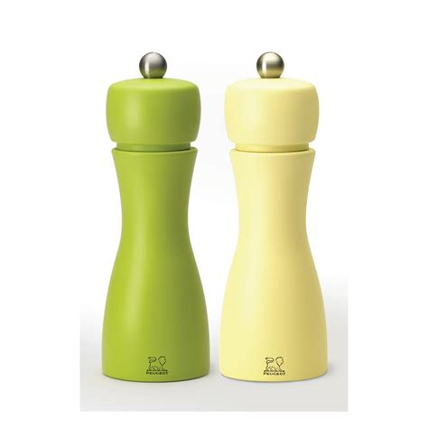 Peugeot Salt And Pepper Mill Set by Peugeot Tahiti Duo Salt And Pepper Mill Set 2 33262