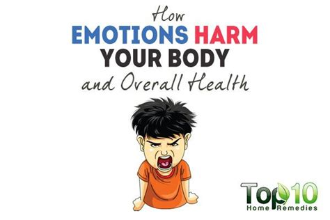 emotions harm  body   health top