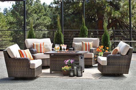 outdoor furniture  contemporary patio set front door