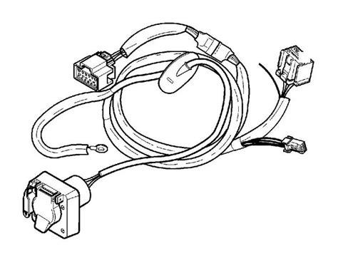 Volvo Towbar Wiring Harness Pin