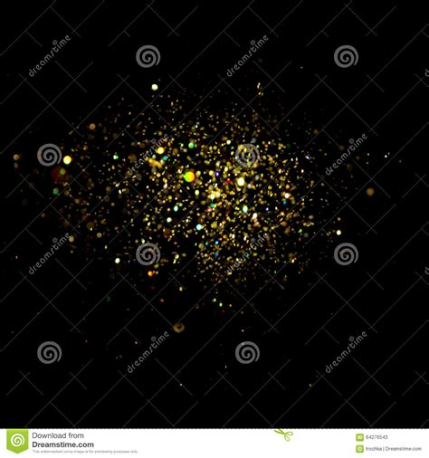 black and gold christmas lights glitter vintage lights background dark gold and black christmas card stock photo image 64276543