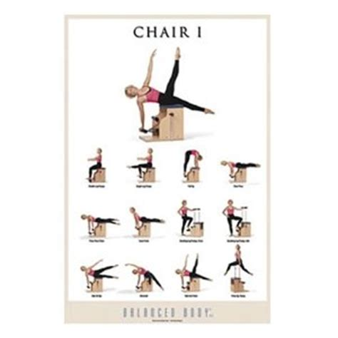 6 best images of chair exercise chart chair