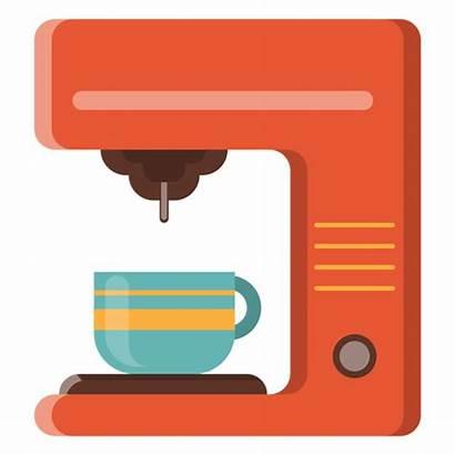 Coffee Machine Icon Svg Transparent Maker Vector