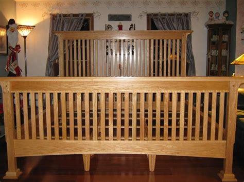 mission style bed frame plans woodworker matt berger shows