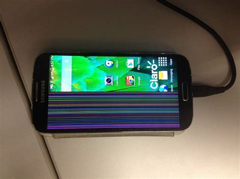 Why Is Half Of My Screen Covered With Colored Lines