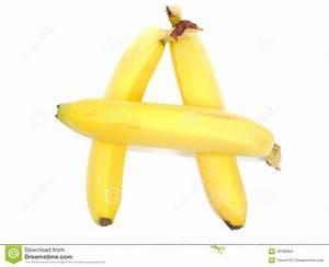 bananas a letter stock images image 18789964 With banana letters