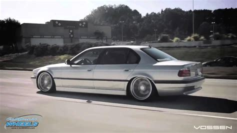 BMW E38 7 Series on Vossen CV1s done by California Wheels ...
