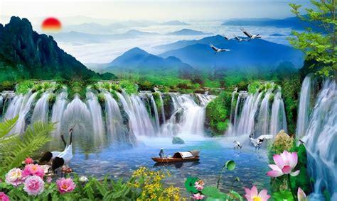 wisata air terjun jogja  pemandangan  menawan
