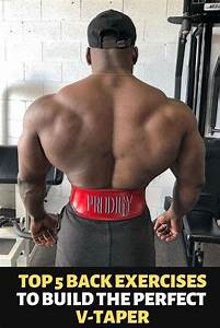 Top 5 Back Exercises To Build The Perfect V