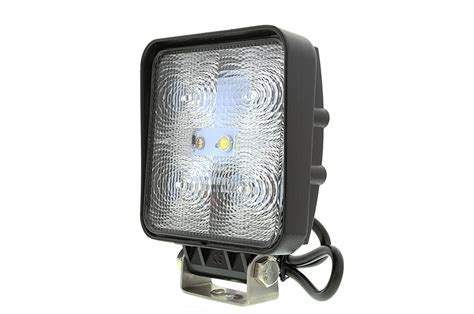 led work light 4 quot square 15w 1 050 lumens led work