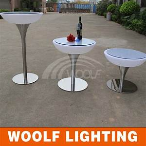 Table A Manger Led : led brillant ovale plateau en verre tournant tables manger ~ Melissatoandfro.com Idées de Décoration