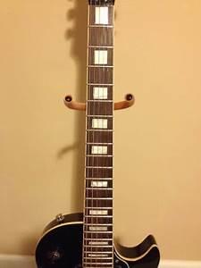 Epiphone Les Paul Custom Black Beauty With Gibson 50s