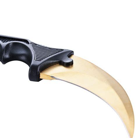 csgo karambit doppler counter strike claw knife fixed blade cs knife ebay