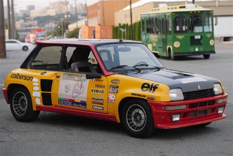 renault turbo rally french and therefore better 1984 renault r5 turbo 2 rally