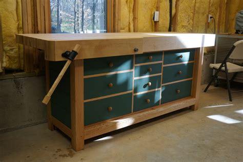 gallery shaker workbench finewoodworking