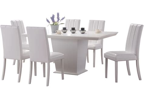 white dining table chairs perks of choosing white dining table and chairs blogbeen