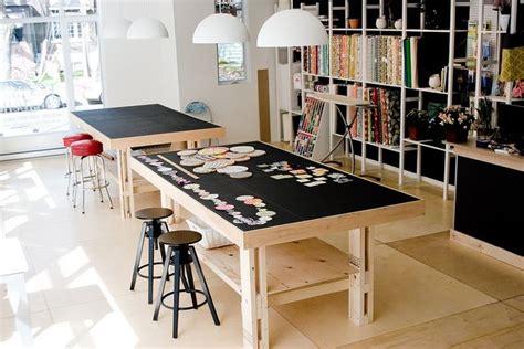 work table  emeline annabelle  flickr office