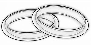 Free Silver Wedding Rings Clip Art