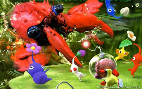 Review Pikmin 2 Wii Geeks Under Grace