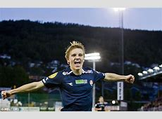 How Martin Odegaard went from playing football in Norway