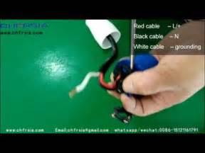 Industrial Plug Wiring Demonstration Youtube