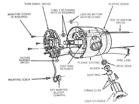 Steering Wheel Column Wiring Diagram by Ford Steering Wheel Parts Diagram Downloaddescargar