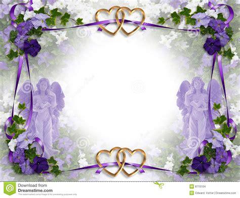 wedding invitation victorian angels stock images image