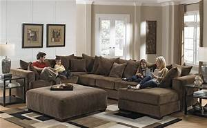 ferguson build your own sectional in chocolate fabric by With davis 4 piece sectional sofa