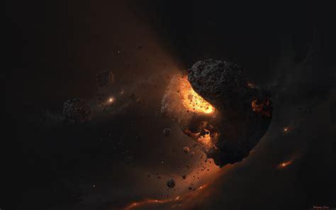 ds max asteroids core light magma wallpaper
