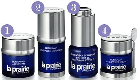 La prairie skin care products