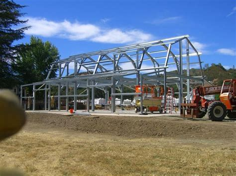 steel frame gambrel type homes starting   hq