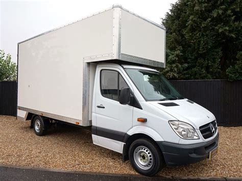 Motorpoint ltd | registered office: Image 1 of this Mercedes-Benz Sprinter Luton Box Vans for ...