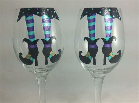 1000+ Ideas About Halloween Wine Glasses On Pinterest