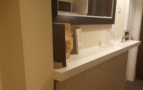 kitchen accessories and decor ideas creating a custom size lack shelf ikea hackers ikea