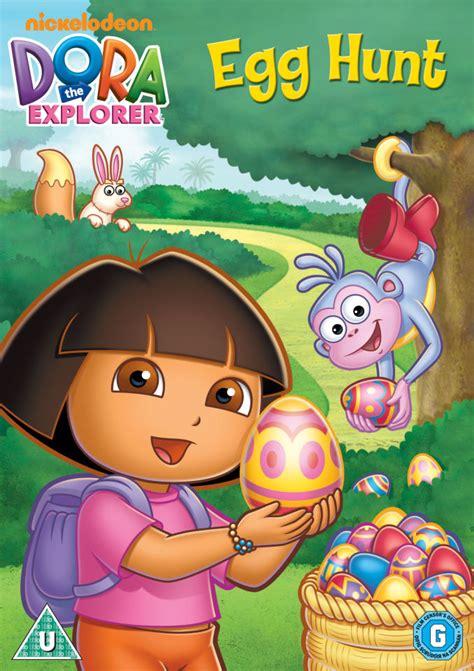 dora  explorer egg hunt dvd zavvi