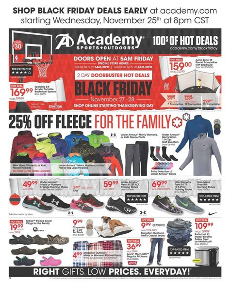 black friday coffee table deals academy sports black friday ad 2015