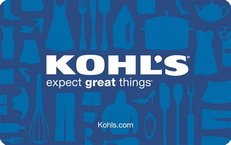 Kohl's credit card is designed for frequent users on kohl's stores. Buy One Select Gift Card, Get 20% Off a Second Kohl's, Marshall's and More!