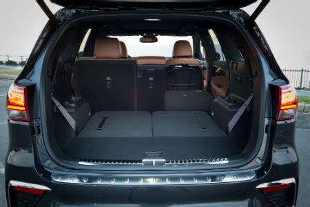 kia sorento   row seating